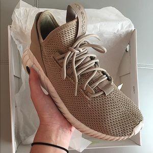 adidas tan workout sneakers